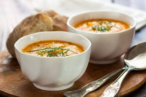 Oven Roasted Butternut Squash Soup