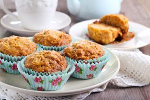 Spiced Carrot and Zucchini Muffins